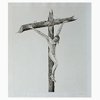 Thief on the Cross by Brian Hanscomb