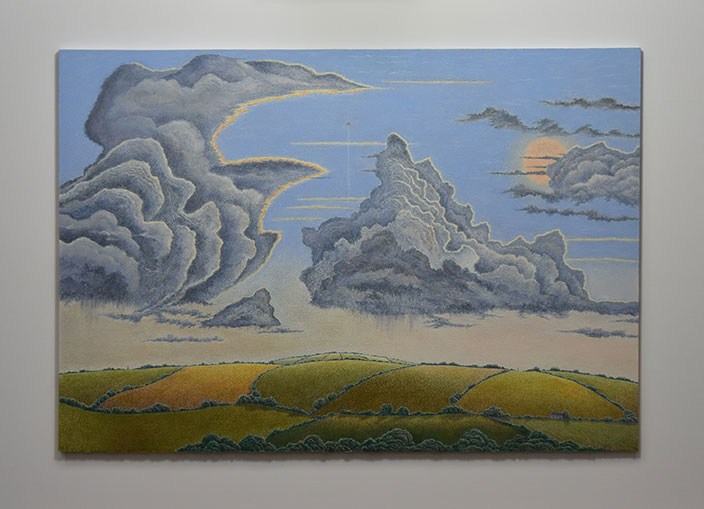 Skyscape over North Cornwall II by Brian Hanscomb